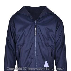 All Saints Reversible Fleece Jacket