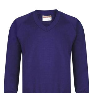 Barns Green Primary V Neck Sweatshirt