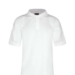 Desmond Anderson Primary White Poloshirt