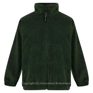 Leechpool Primary Green Fleece