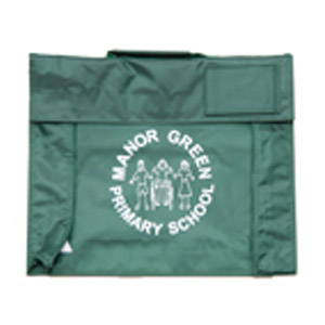 Manor Green Primary Green Book Bag