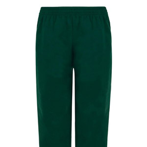 Manor Green Primary Green Jogging Bottoms