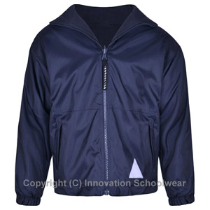 Northolmes Junior School Navy Reversible Fleece Jacket