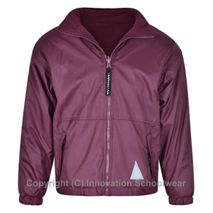 Pound Hill Infant Academy Maroon Reversible Fleece Jacket
