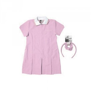 Pound Hill Infant Academy Pink School Dress