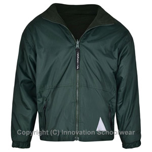 Rusper Primary School Green Reversible Fleece Jacket