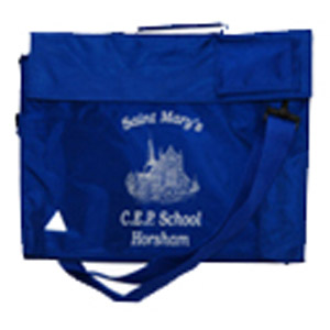 St Marys C of E Primary School Royal Blue Book Bag