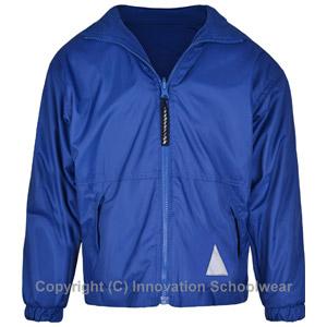 Blue Reversible Fleece Jacket