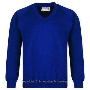 St Marys V Neck Sweatshirt