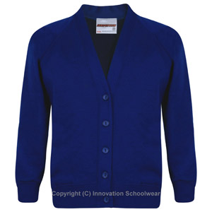 St Margarets Royal Blue Cardigan