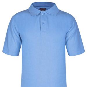 Blue Poloshirt