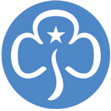 Rainbows Brownies and guides logo
