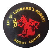 1st St Leonard's Forest Scout Group Logo