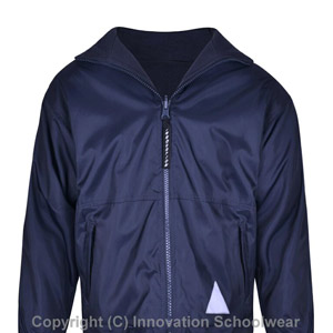 All Saints Reversible Fleece Jacket