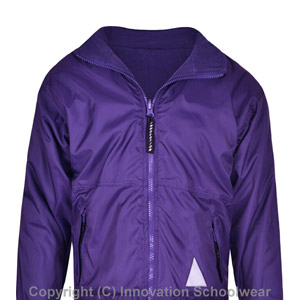 Barns Green Primary Reversible Fleece Jacket