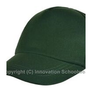 Green School Baseball Hat