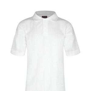 Desmond Anderson Primary White Poloshirt