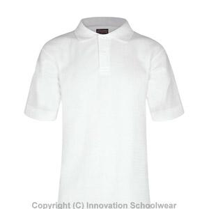 Kingslea White Poloshirt