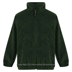 Leechpool Primary Green Fleece