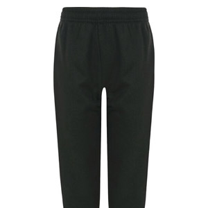 Leechpool Primary Black PE Jogging Bottoms
