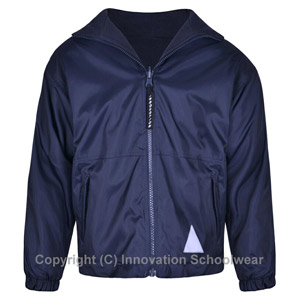 Manor Green College Navy Reversible Fleece Jacket