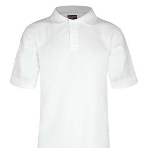 Manor Green College White Poloshirt