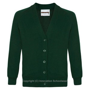 Manor Green Primary Cardigan