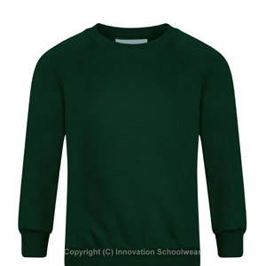 Manor Green Primary Round Neck Sweatshirt