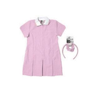 Pound Hill Infant Academy Pink School Dress