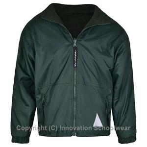 Rusper Primary School Green Reversible Fleece Jacket