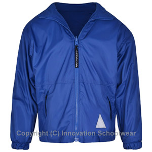 Blue Reversible Fleece Jacket