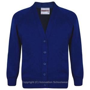 St Margarets Royal Blue Cardigan