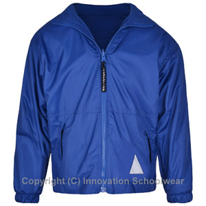 St Margarets Royal Blue Reversible Fleece Jacket