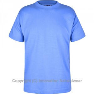 St Margarets Blue PE Tshirt