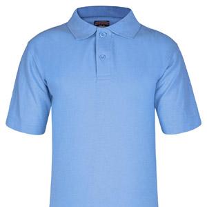 St Margarets Blue Poloshirt