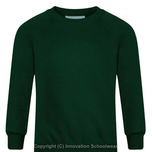 Shipley Green Round Neck Sweatshirt